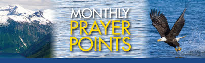 Monthly Prayer Points